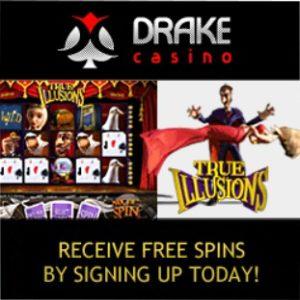 Drake Casino | 300% bonus + $5000 gratis + no deposit free spins
