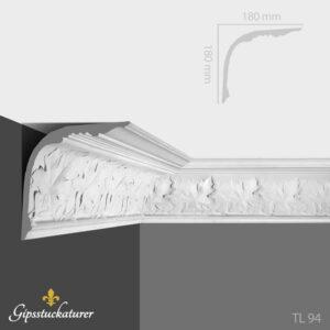 gips-stuckaturer-stockholm-sekelskifte-dekorativa-taklister-taklist-tl94-gipsstuckaturer-se