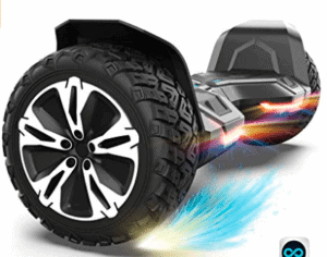 image showing Tyres of hoverboard
