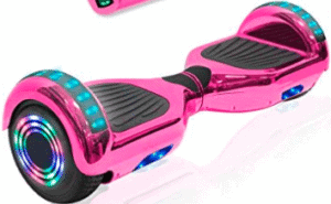 image of techclick hoverboard in pink color