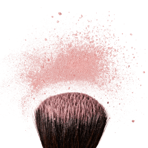 A good round fluffy blush brush is a must.