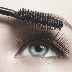 Applying mascara is the lengthiest part of my makeup routine.