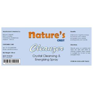 Cleanzer Label