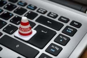 keyboard representing social media for business