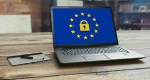 laptop representing how GDPR will affect digital marketing