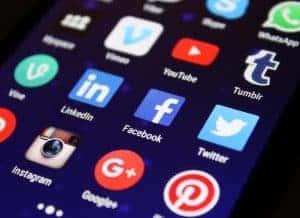 Screen representing Wetherspoons social media