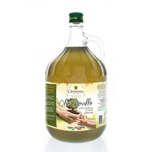 Olio Extravergine 100% Italiano Novello 3 Litri