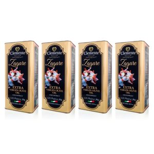 """""""Bundle Pack 4 x Le Zagare 5 litri"""" Olio Extravergine 100% Italiano"""