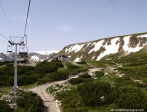Chairlift Rila lakes
