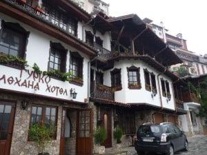 전통적인 불가리아어 아키텍처 - 벨리 코 타르 노보 -