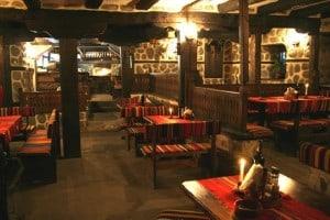 Traditionelle Taverne in Bansko
