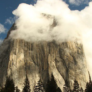 The Little Boy and Girl in the Clouds of El Capitan