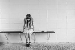 sad woman gets love psychic advice