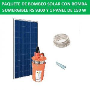 Kit de bombeo solar RS-9300-12V