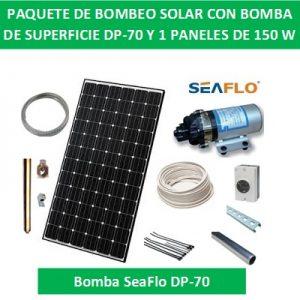 Kit de bombeo solar DP-70-150