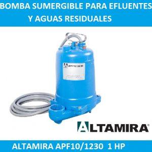 Bomba para efluentes Altamira APF10