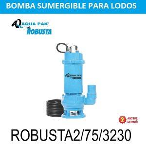 Bomba para aguas negras Aqua Pak Robusta2