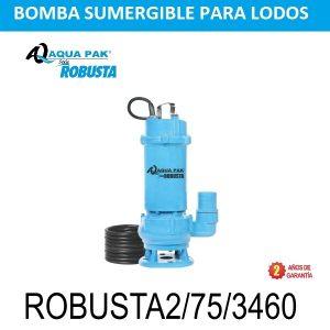 Bomba para aguas negras Aqua Pak Robusta2/3460