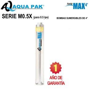 Bombas-sumergibles-acero-inoxidable-para-pozo-de-4-pulg-Aqua-Pak-serie-M0.5X-0.5-LPS