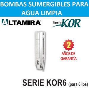 Bombas sumergibles KOR6