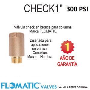 Válvula-check-vertical-para-columna-bronce-Flomatic-CHECK1-1-pulg.-300-PSI