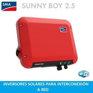Inversor solar SMA SB2.5