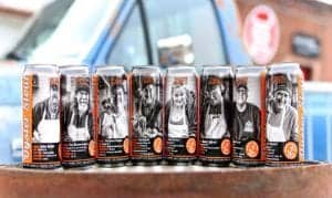 Oyster Stout Campaign Cans