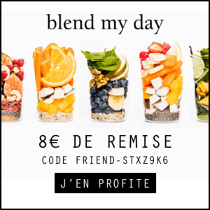 blend my day : 8 euros de reduction avec veggiebulle