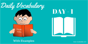 10 Important English Vocabulary Words Day-1