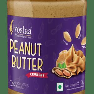 Shop Rostaa - High Protein Crunchy Peanut Nut Butter - 510g Online