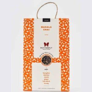 Buy Butterfly Ayurveda - Herbal Masala Chai (Banaphsa + Black Tea) - 100g Online