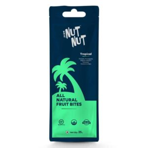 Shop Zealeo - NutNut - All Natural Tropical Fruit Bites - (10 x 25g) Online