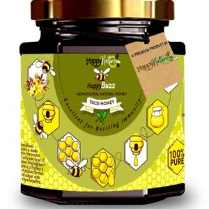 Shop Happy Nature - 100% Pure Happy Buzz Tulsi Honey - 325g Online