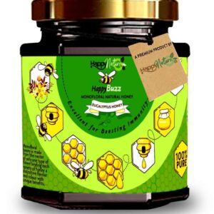 Shop Happy Nature - Happy Buzz Eucalyptus Honey - 325g Online