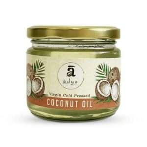 Buy Adya Organics - 100% Organic Virgin Coconut Oil - 500ml Online