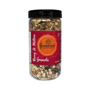 Shop Graminway - Berry & Millets Granola - Breakfast - 300g Online