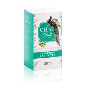 Shop Chai Craft - Spearmint Green Tea (25 Tea Bags) - 45g Online