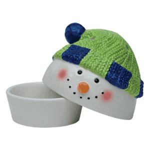 SNOWMAN - SCENTSY DISH ONLY