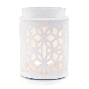 DARLING WHITE WAX WARMER FROM SCENTSY