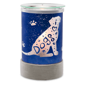 I HEART DOGS WAX WARMER FROM SCENTSY