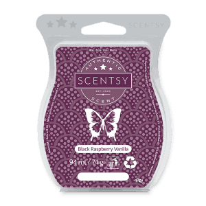 BLACK RASPBERRY VANILLA SCENTSY WAX BAR