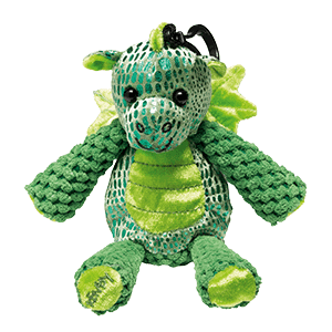 SCOUT THE DRAGON BUDDY CLIP + WILD WHAT-A-MELON FRAGRANCE