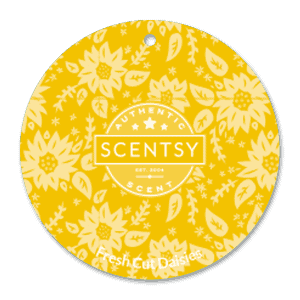 FRESH CUT DAISIES SCENTSY SCENT CIRCLE