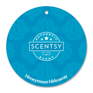 HONEYMOON HIDEAWAY SCENTSY SCENT CIRCLE