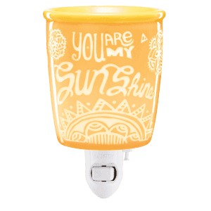 YOU ARE MY SUNSHINE SCENTSY PLUG IN WAX WARMER