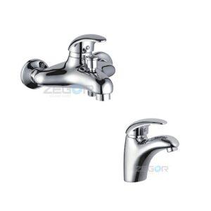 Набор смесителей для ванны ZEGOR SEA-A112+BEA-A112