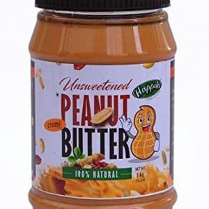 Happilo All Natural Creamy Peanut Butter, 1kg