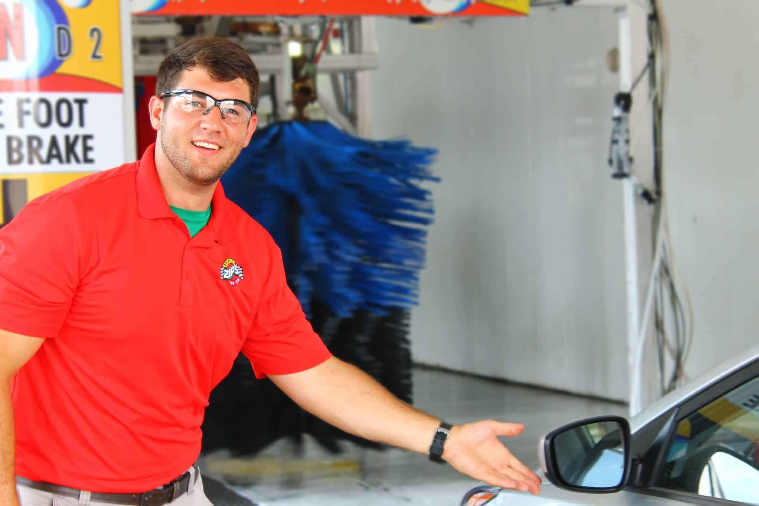 Zips Car Wash Customer engagement