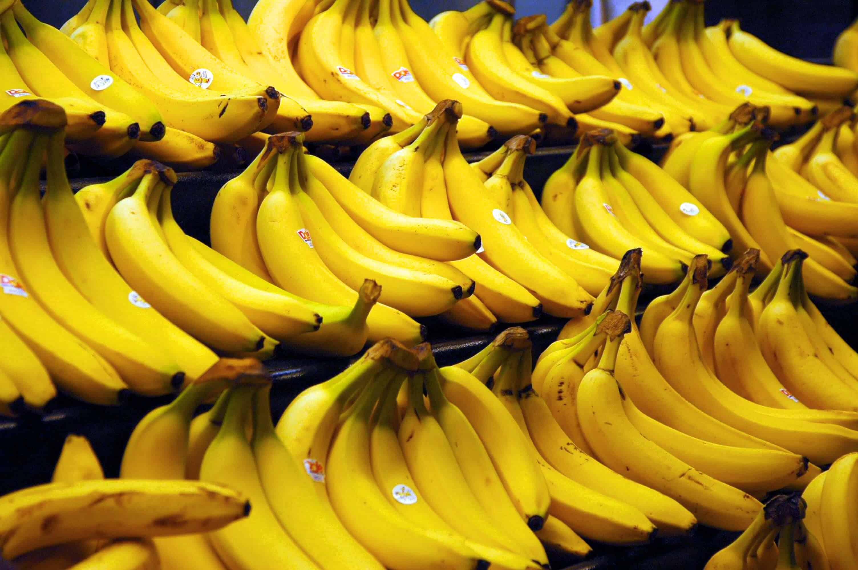 طرق إنضاج الموز