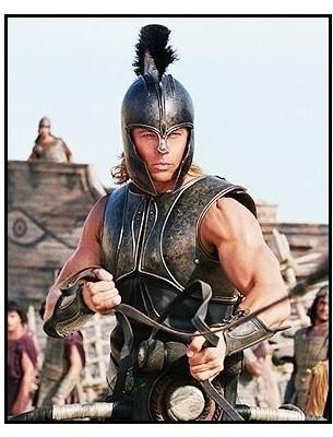 """El mito de Aquiles de la película """"Troya"""""""